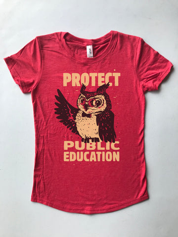 Wise Owl Women's Tee - United State of Indiana: Indiana-Made T-Shirts and Gifts