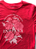 IN Bloom Youth Tee - United State of Indiana: Indiana-Made T-Shirts and Gifts