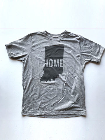 This is Home Youth Tee - United State of Indiana: Indiana-Made T-Shirts and Gifts