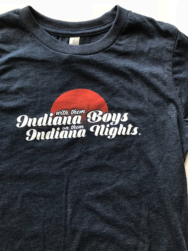 Indiana Boys and Indiana Nights Youth Tee - United State of Indiana: Indiana-Made T-Shirts and Gifts