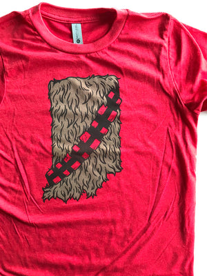 Hoosier Wookiee Youth Tee - United State of Indiana: Indiana-Made T-Shirts and Gifts