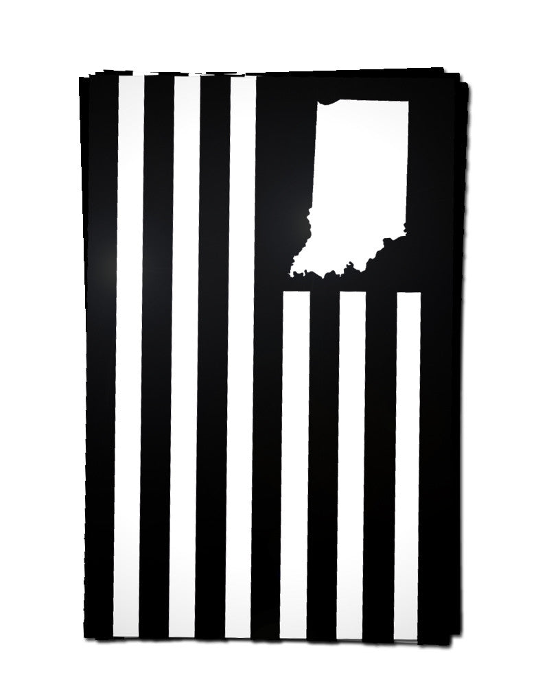 USI Flag Sticker - United State of Indiana: Indiana-Made T-Shirts and Gifts