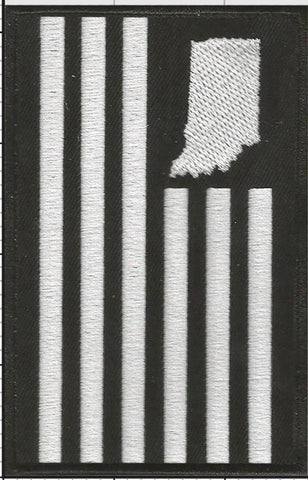 USI Flag Iron-On Patch