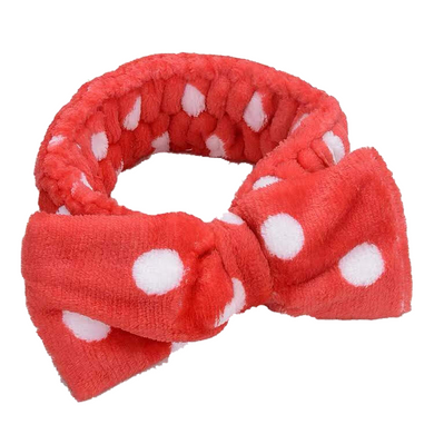 MocoMoco Headband Dot Red