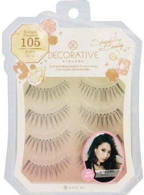 No. 105 for eyelashes, eyelashes and upper eyelashes