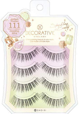 No. 111 for eyelashes, eyelashes and upper eyelashes