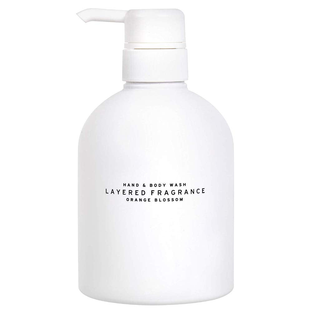 LAYERED FRAGRANCE Hand & Body Wash (Orange Blossom)