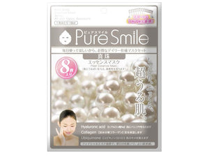 Pure Smile Essence Mask Pearl 8 sheets