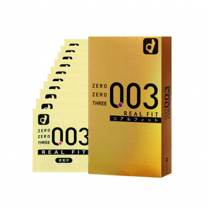 003 Real Fit Condom (10 Pack)