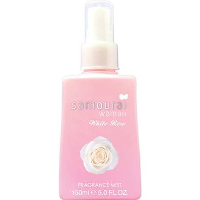 SPR SAMOURAI WOMAN WHITE ROSE FRAGRANCE MIST