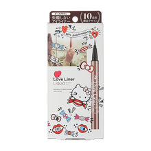 Load image into Gallery viewer, Love Liner Liquid Eyeliner 10th Anniversary Hello Kitty (Dark Brown)