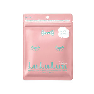 Lululun Face Mask Pink 7 Sheets