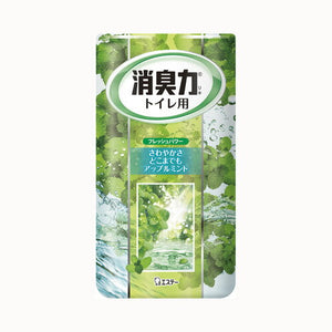 ST SHOSHU-RIKI DEODORIZER FOR TOILET APPLE MINT