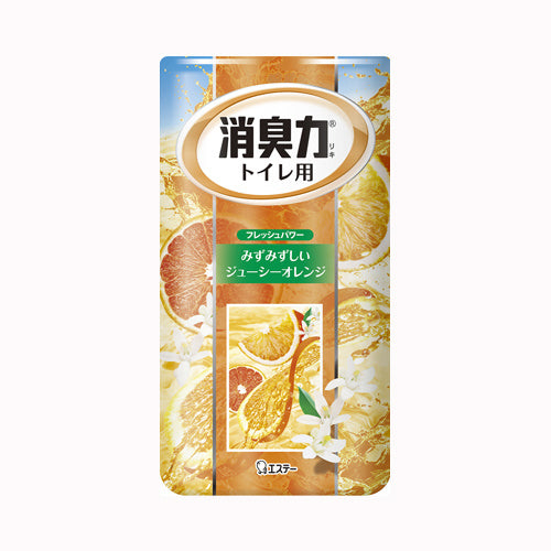 ST SHOSHU-RIKI DEODORIZER FOR TOILET ORANGE