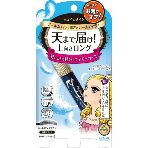 KissMe Heroine Make Long & Curl Mascara Super Film #01 Jet Black