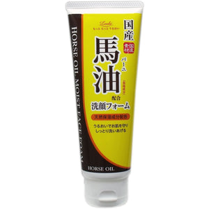 COSMETEX ROLAND LOSHI MOIST AID WHIP FACE WASH HORSE OIL