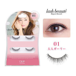 D.U.P. EYELASHES lash beaute 01