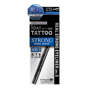 K-Palette Real Strong Eyeliner 24h Waterproof Super Black