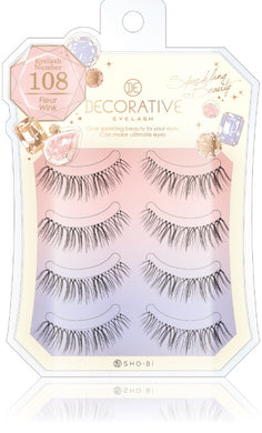 No. 108 for eyelashes, eyelashes and upper eyelashes