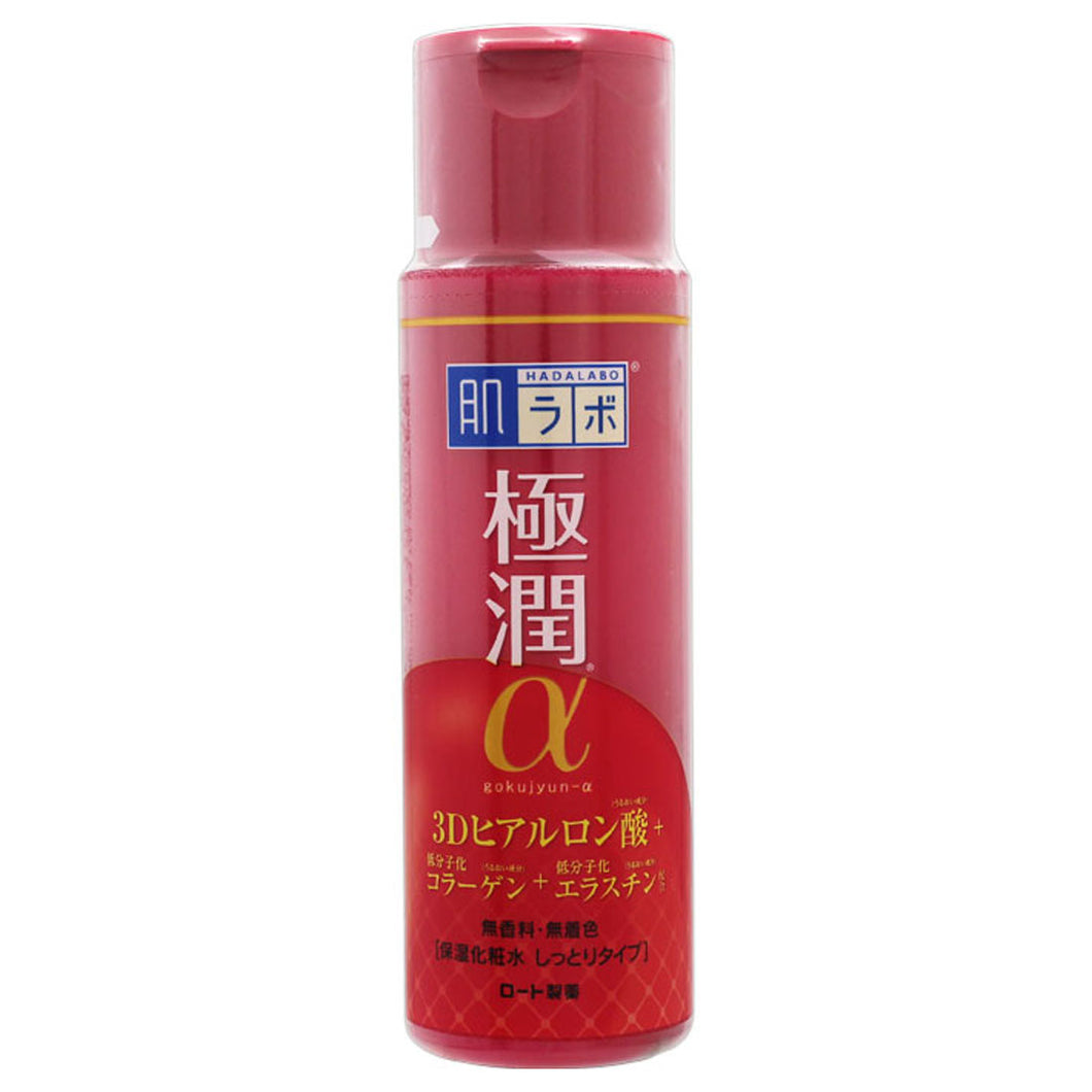 Hada Labo Gokujyun α Lifting Lotion Moist Type