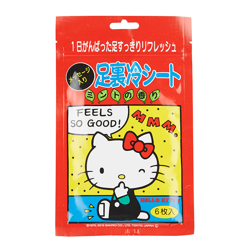 HELLO KITTY Foot Cooling Sheet