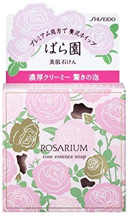 Shiseido rose garden rose essence soap