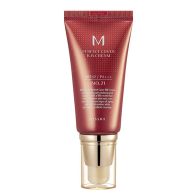 Missha Perfect Cover BB Cream SPF42/PA+++ #21 Light Beige