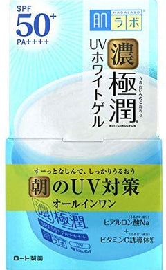 Rohto skin Research Gokujun UV White gel 90g