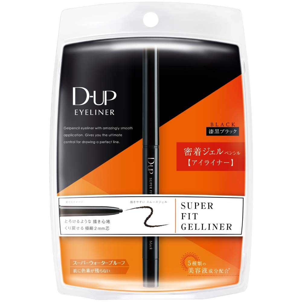 D.U.P Super Fit Gel Eyeliner Black