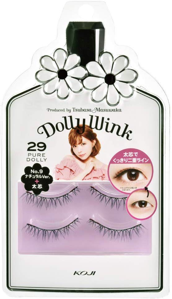 KOJI DOLLY WINK FALSE EYELASHES #29 PURE DOLLY