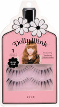 Load image into Gallery viewer, KOJI DOLLY WINK FALSE EYELASHES #01 DOLLY SWEET