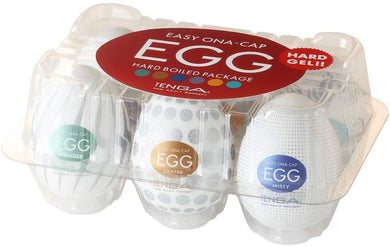 TENGA TENGA EGG HARD BOILED PACKAGE EGG-VP6(2)