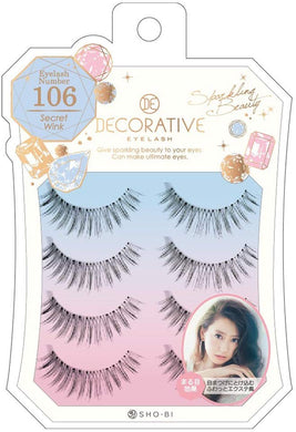 No. 106 for eyelashes, eyelashes and upper eyelashes