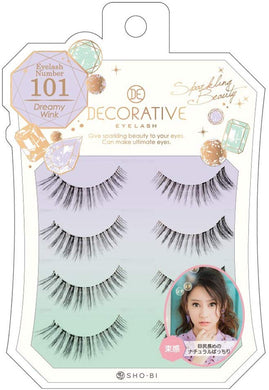 No. 101 for eyelashes, eyelashes and upper eyelashes