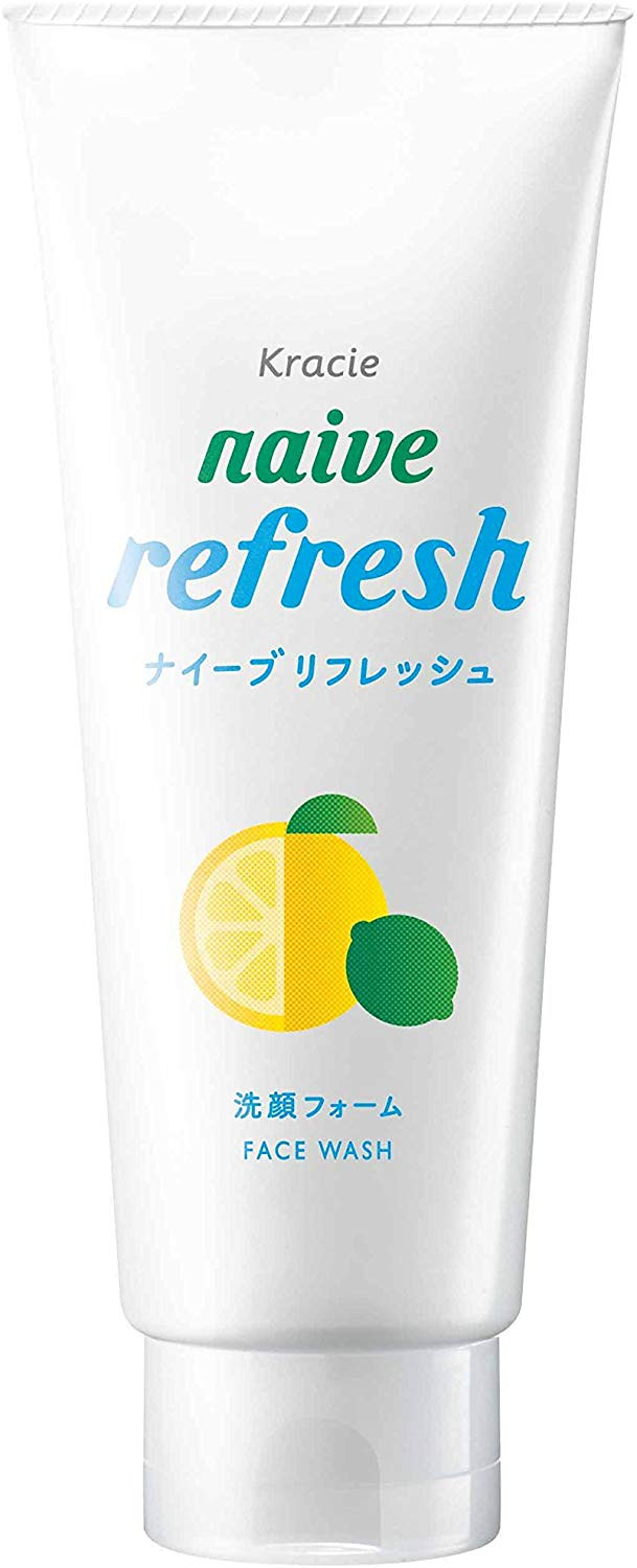 KRACIE NAIVE FACIAL CLEANSING FOAM REFRESH