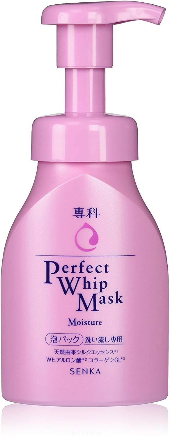 Senka Perfect Perfect Whip Mask Moisture Face Wash