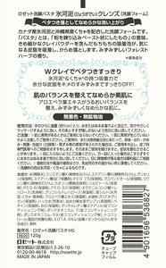 ROSETTE CLEANSING PASTE FACE WASH HYOGADEI CLEANSE