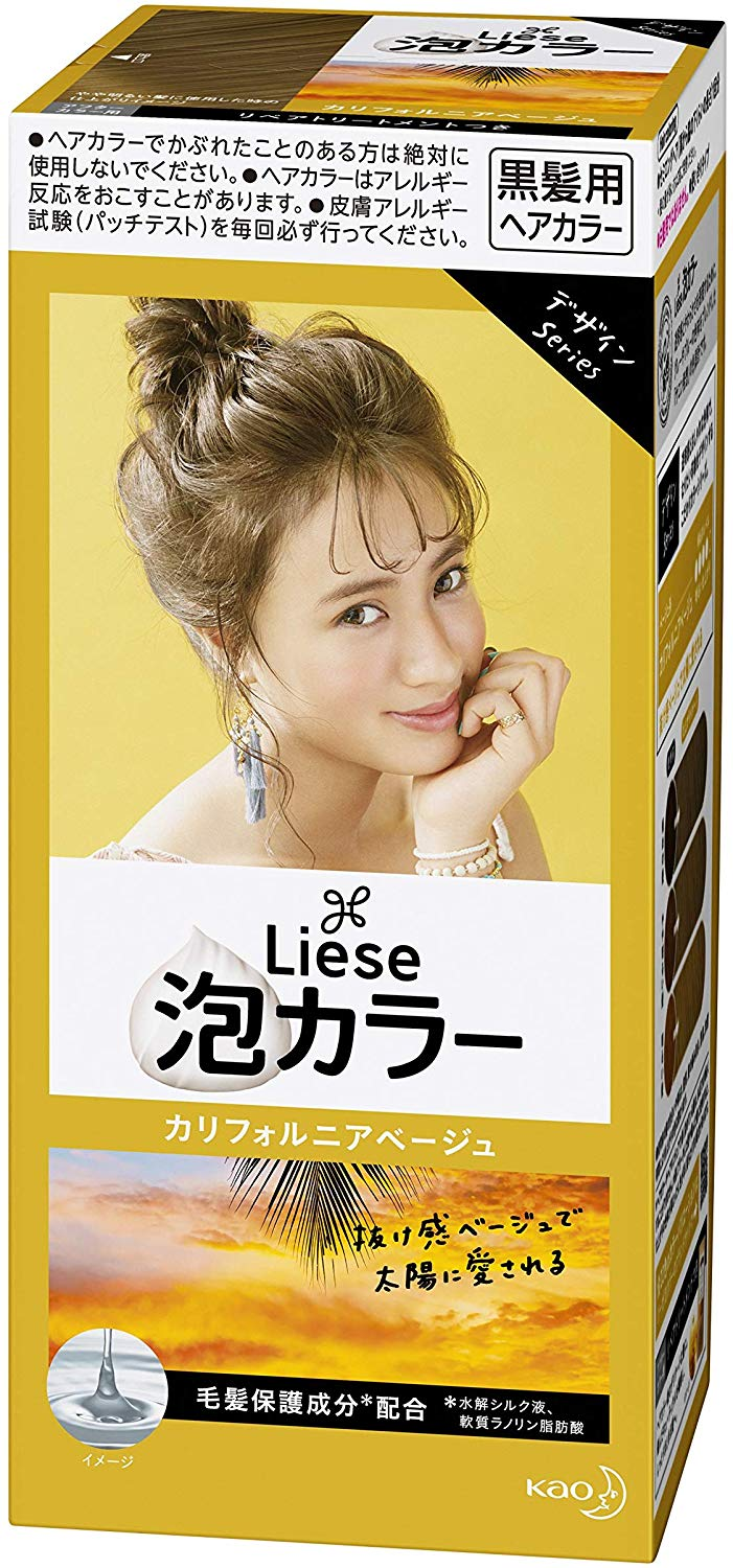 KAO LIESE BUBBLE COLOR MILKY CALIFORNIA BEIGE