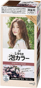 KAO LIESE BUBBLE HAIR COLOR PROVENCE ROSE