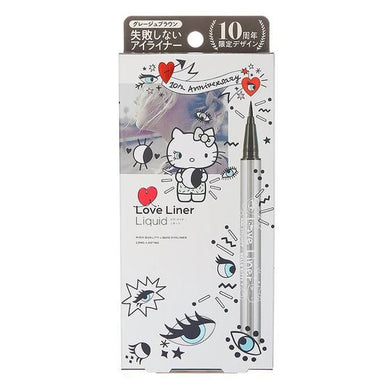 Love Liner Liquid Eyeliner 10th Anniversary Hello Kitty (Grege Brown)