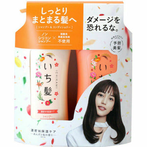 KRACIE ICHIKAMI MOIST SHAMPOO&CONDITIONER PUMP SET 18AW