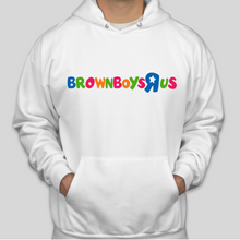 Load image into Gallery viewer, BBRU White Hoodie 2.0