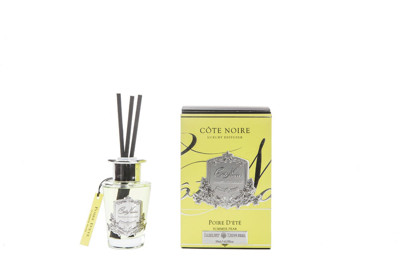 Cote Noire 100ml Diffuser Set - Summer Pear - silver - GMSS15014