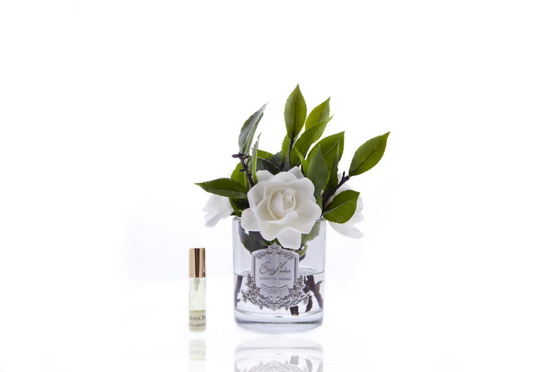 Côte Noire Perfumed Natural Touch Four Gardenias - Clear Glass - Ivory - SFP09
