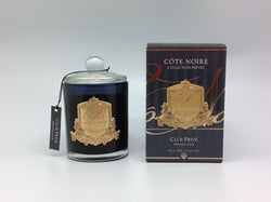Côte Noire 450g Soy Blend Candle - Private Club - Gold - GML45025