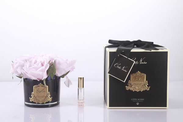 Côte Noire Perfumed Natural Touch 5 Roses - Black - French Pink - GMRB66
