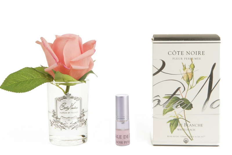 Côte Noire Perfumed Natural Touch Rose Bud - Frost - White Peach - GMR45