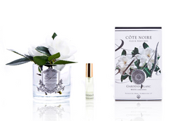 Côte Noire Perfumed Natural Touch Double Gardenias - Clear - GMG02