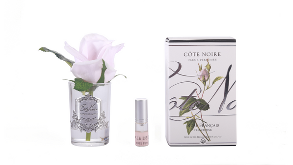 Cote Noire Perfumed Natural Touch Rose Bud - clear- French pink - GMR46