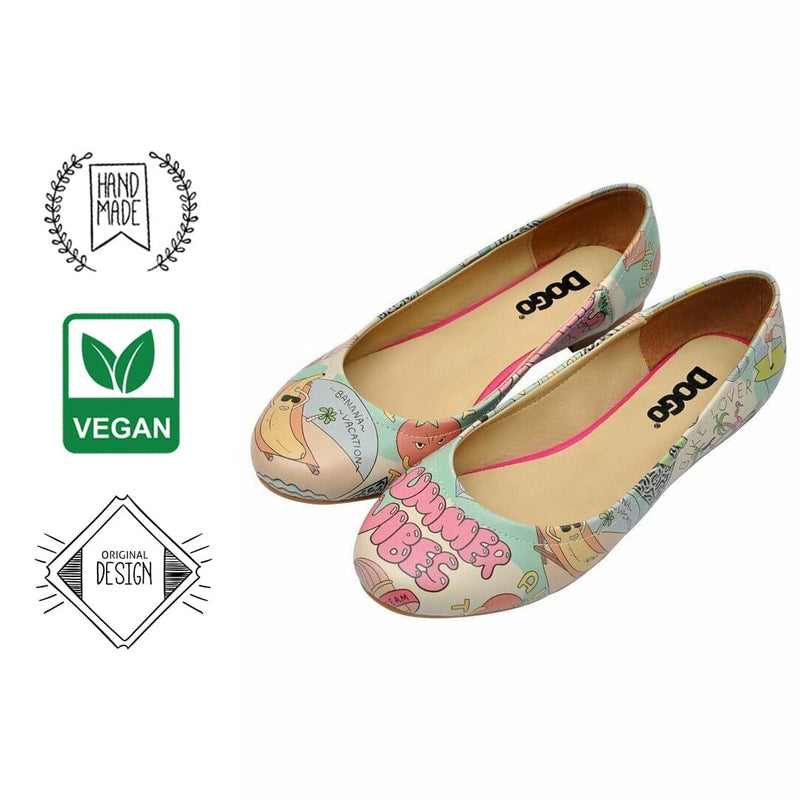 Summer Vibes Women's Ballet Flats Shoes